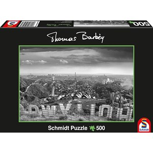"""Schmidt Spiele (59507) - Thomas Barbey: """"A glass of too"""" - 500 pièces"""