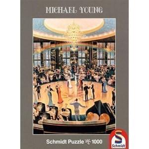 "Schmidt Spiele (59700) - Michael Young: ""Ballroom"" - 1000 pièces"