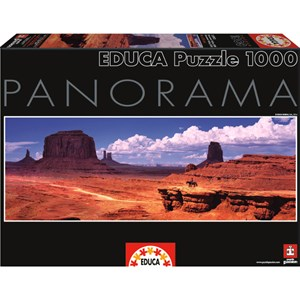 """Educa (15993) - """"USA, Monument Valley"""" - 1000 pièces"""