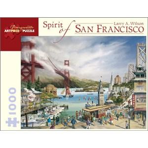 "Pomegranate (AA677) - Larry A. Wilson: ""Esprit de San Francisco"" - 1000 pièces"