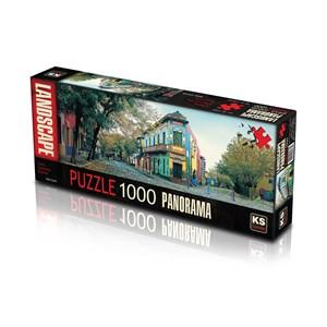 "KS Games (11265) - ""Calle Caminito, Argentina"" - 1000 pièces"