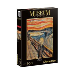 "Clementoni (30505) - Edvard Munch: ""The Scream"" - 500 pièces"