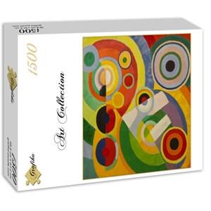 """Grafika (00319) - Robert Delaunay: """"Rythme, Joie de Vivre, 1930"""" - 1500 pièces"""