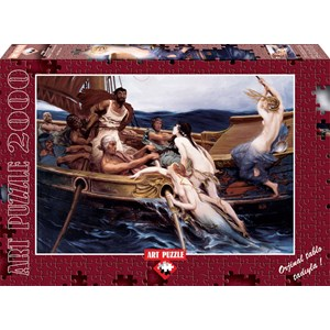 "Art Puzzle (4701) - Herbert Draper: ""Ulysse and the Sirens"" - 2000 pièces"