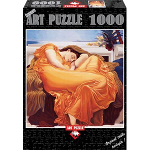 """Art Puzzle (81045) - Frederic Leighton: """"Flaming June"""" - 1000 pièces"""