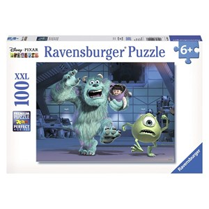 """Ravensburger (10941) - """"Sully, Mike & Boo"""" - 100 pièces"""