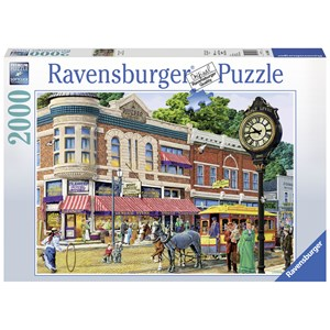 "Ravensburger (16638) - Tom Antonishak: ""Ellen's General Store"" - 2000 pièces"