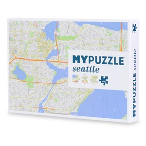 """Geo Toys (GEO 213) - """"Seattle Mypuzzle"""" - 1000 pièces"""