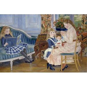 """Grafika Kids (00184) - Pierre-Auguste Renoir: """"L'après-midi des enfants à Wargemont, 1884"""" - 100 pièces"""