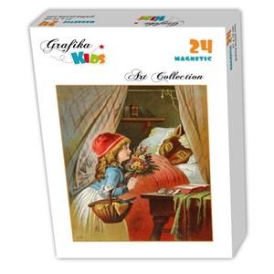 """Grafika Kids (00239) - Carl Offterdinger: """"Le Petit Chaperon Rouge"""" - 24 pièces"""