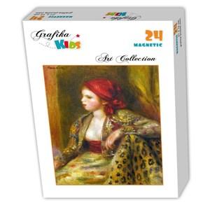 """Grafika Kids (00262) - Pierre-Auguste Renoir: """"Odalisque, 1895"""" - 24 pièces"""