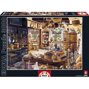 "Educa (16319) - Hiro Tanikawa: ""The Bakery"" - 3000 pièces"