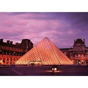 """Tomax Puzzles (50-012) - """"Louvre Pyramid, Paris"""" - 500 pièces"""