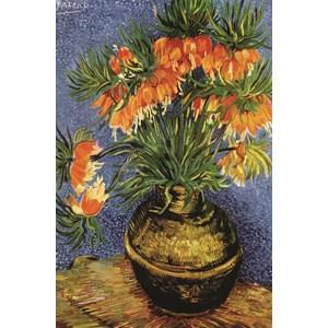 """Gold Puzzle (60911) - Vincent van Gogh: """"Fritillaires dans un Vase en Cuivre"""" - 1000 pièces"""