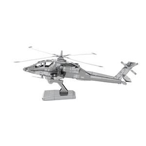 "Metal Earth (Metal-Earth-MMS083) - ""Apache AH-64"" - 20 pièces"