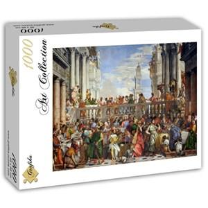 "Grafika (T-00074) - Paul Véronèse: ""The Wedding at Cana, 1563"" - 1000 pièces"