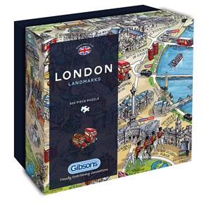 "Gibsons (G3402) - Maria Rabinsky: ""London Landmarks"" - 500 pièces"