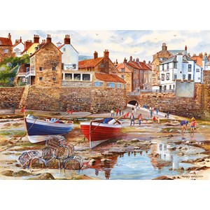 """Gibsons (G6189) - Terry Harrison: """"Robin Hood's Bay"""" - 1000 pièces"""