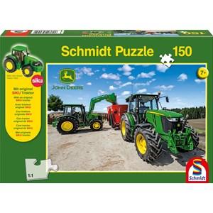 """Schmidt Spiele (56045) - """"John Deere, Tractor 5M Serie"""" - 150 pièces"""