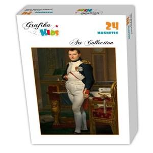 """Grafika Kids (00362) - Jacques-Louis David: """"Napoléon dans son Cabinet de Travail, 1812"""" - 24 pièces"""
