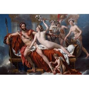 """Grafika Kids (00373) - Jacques-Louis David: """"Mars désarmé par Vénus, 1824"""" - 12 pièces"""