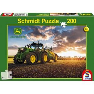 """Schmidt Spiele (56145) - """"Tractor John Deer 6150R"""" - 200 pièces"""