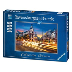 "Ravensburger (19618) - ""Gran Vía, Madrid"" - 1000 pièces"