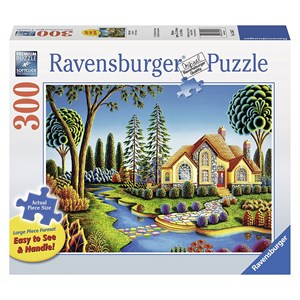 """Ravensburger (13567) - Andy Russell: """"Cottage Dream"""" - 300 pièces"""