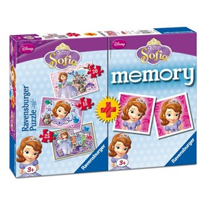 "Ravensburger (07358) - ""Sofia + Memory"" - 15 20 25 pièces"