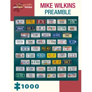 """Pomegranate (AA984) - Mike Wilkins: """"Preamble"""" - 1000 pièces"""