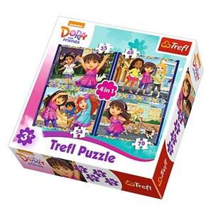"Trefl (34265) - ""Dora"" - 35 48 54 70 pièces"