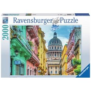 """Ravensburger (16618) - """"Cuba Coloré"""" - 2000 pièces"""