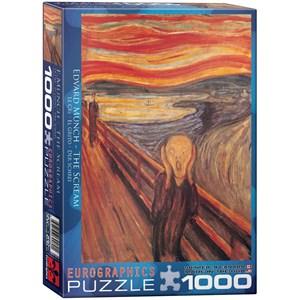 "Eurographics (6000-4489) - Edvard Munch: ""Le cri"" - 1000 pièces"