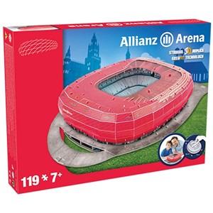"Nanostad (Bayern) - ""Allianz Arena, Bayern"" - 119 pièces"