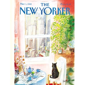 """New York Puzzle Co (NPZNY1708) - """"Cat's Eye View"""" - 1000 pièces"""