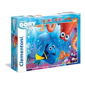"Clementoni (23976) - ""Finding Dory"" - 104 pièces"