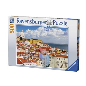 """Ravensburger (14757) - """"Lisbonne, Portugal"""" - 500 pièces"""