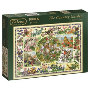 "Falcon (11131) - Sarah Adams: ""The Country Garden"" - 1000 pièces"