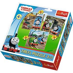 "Trefl (34821) - ""Thomas & Friends"" - 20 36 50 pièces"
