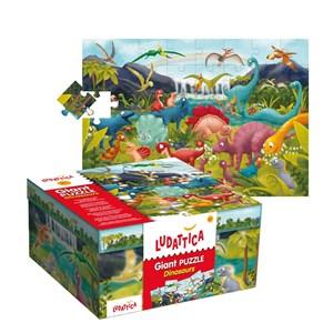 "Ludattica (51373) - ""Dinosaurs"" - 48 pièces"