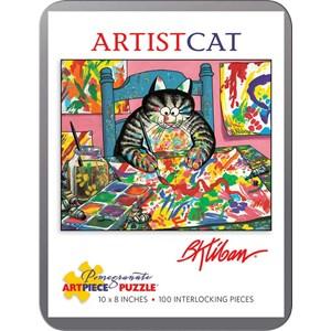 "Pomegranate (AA813) - Bernard Kliban: ""ArtistCat"" - 100 pièces"