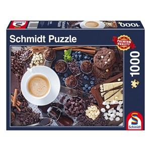 """Schmidt Spiele (58293) - """"Pause Sucrée"""" - 1000 pièces"""
