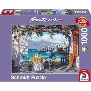 """Schmidt Spiele (59396) - Sam Park: """"Rendez-vous à Mykonos"""" - 1000 pièces"""