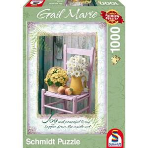 """Schmidt Spiele (59393) - Gail Marie: """"Joy"""" - 1000 pièces"""