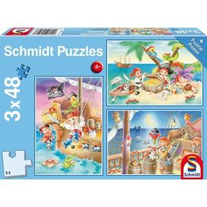 """Schmidt Spiele (56223) - """"Pirates"""" - 48 pièces"""