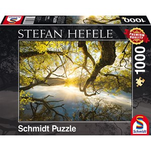 "Schmidt Spiele (59383) - Stefan Hefele: ""Embrassade en Or"" - 1000 pièces"