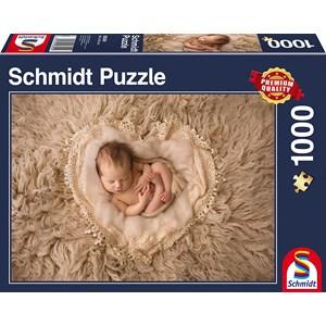 """Schmidt Spiele (58300) - """"Petit Coeur"""" - 1000 pièces"""