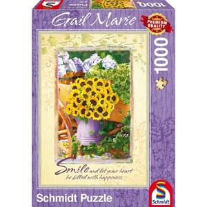 """Schmidt Spiele (59390) - Gail Marie: """"Smile"""" - 1000 pièces"""