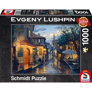 """Schmidt Spiele (59563) - Eugene Lushpin: """"Soirée Magique"""" - 1000 pièces"""