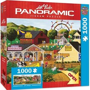 """MasterPieces (71728) - Art Poulin: """"Apple Annie's Carnival Time"""" - 1000 pièces"""